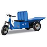 Dried brick cart
