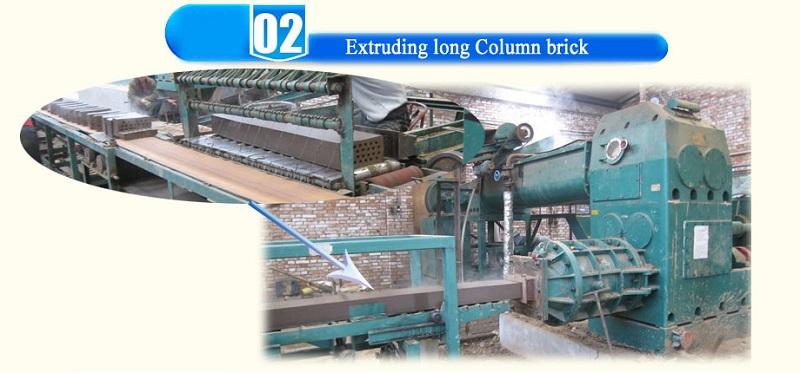 working of brick making machine
